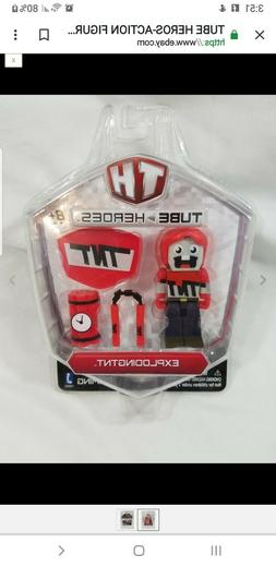 tube heros action figure with accessories explodingtnt