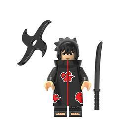Uchiha Sasuke Akatsuki Sharingan Naruto Mini Action Figure T