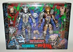 "NECA ULTIMATE BAD BLOOD vs. ENFORCER Predator 7"" inch Action"