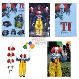 "ULTIMATE PENNYWISE Neca STEPHEN KING  2018 7"" Inch Action FI"