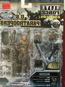 ULTIMATE SOLDIER 1/18 ELITE FORCE US PARATROOPERS RARE!! LT