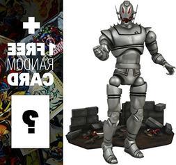 "Ultron: ~7"" Marvel Select x Diamond Select Action Figure + 1"