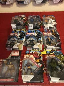 marvel universe 3.75 action figures lot 9 Figures In Box