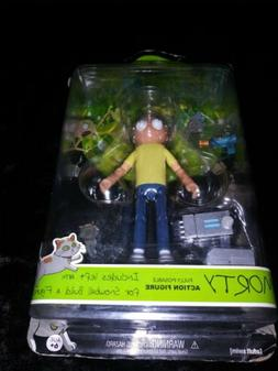 unopened rick and morty 5 inch articulated