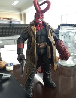 "US! 7""Action Figure Model Toy Hellboy Battle Damage Ver. HB"