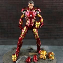 US! Marvel Avengers Infinity War Iron Man MK 43 Tony Stark F
