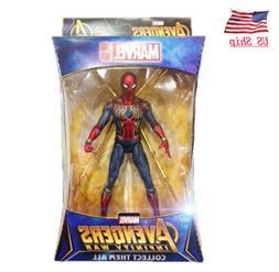 "US! Marvel Spider Man Iron Spider Avengers Infinity War 7""Ac"