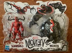 Marvel Venom Action Figure 2-Pack ~VENOM & CARNAGE Eddie Bro