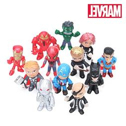 ML.PRODUCTS Version The Avengers Figure Set Marvel Toys 4-5c