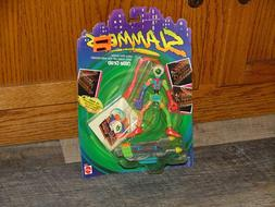vintage 1990 slammers ollie grab action figure