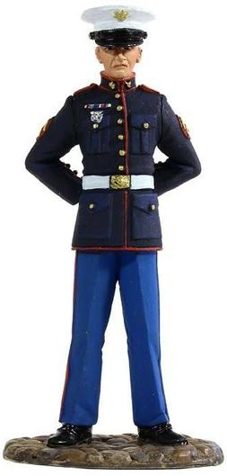 W Britain 13001 US Marine In Dress Blue 1/30 Scale Collectab