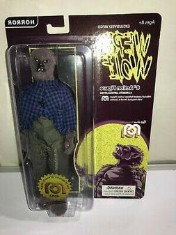 "Mego Werewolf 8"" Action Figure HORROR Wave 6 New Flocked"