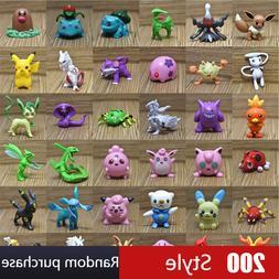 wholesale 200 Styles Random Purchase 3.6-6cm Pokemon Pikachu