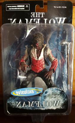 Wolfman Bloody Variant - 7 Inch Action Figure - MEZCO - Bloc