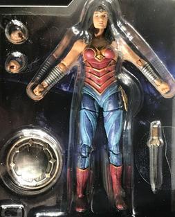 WONDER WOMAN - DIANA 4 Inch Action Figure DC COMICS INJUSTIC