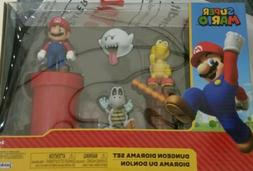 World Of Nintendo Super Mario Jakks Pacific Dungeon Diorama