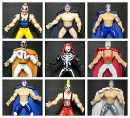 """Wrestler/Luchador Mexicano Action Figure 7"""" - Juguete de Luc"""