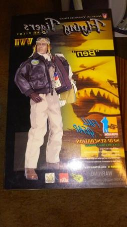 "ELITE FORCE WW2 1/6 Flying Tigers P-40 Pilot ""Ben"" -NIB"
