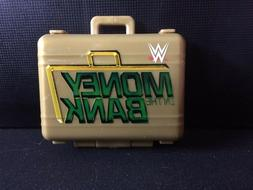WWE Mattel Action Figure Accessory Money In the Bank Briefca