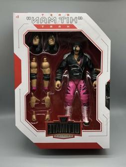WWE Bret The Hitman Hart Ultimate Edition Action Figure Matt