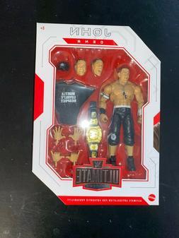 WWE Mattel John Cena Ultimate Edition Series #10 Figure RARE