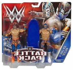 WWE SIN CARA AND KALISTO FIGURES LUCHA DRAGONS BATTLE PACK S
