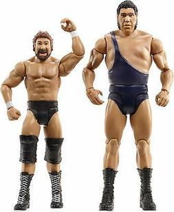 WWE Wrestlemania Andre The Giant & Million Dollar Man Action