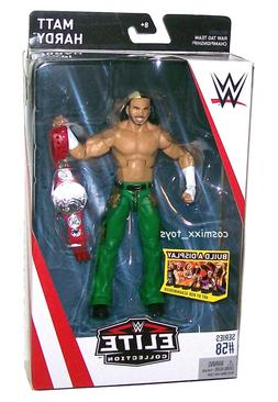 WWE WRESTLING ELITE SERIES #58 SUPERSTAR MATT HARDY ACTION F