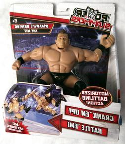 """WWE Wrestling Power Slammers The Miz Action 5"""" Figure Mattel"""