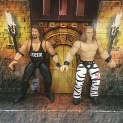 WWE WWF DIESEL & SHAWN MICHAELS  JAKKS WRESTLING ACTION FIGU