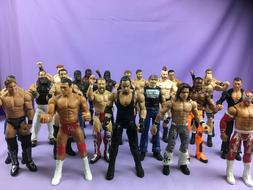wwe wwf wcw wrestling action figures unboxed