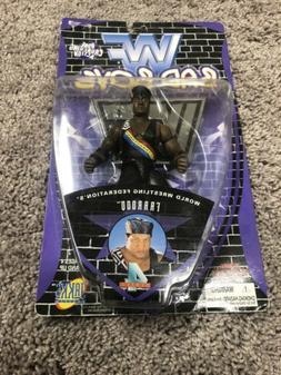 WWF Bad Boys Farooq Action Figure. New In Box