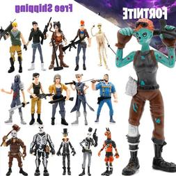 Xmas Gift 16 Pcs Fortnite Action Figures Skull Trooper Ninja
