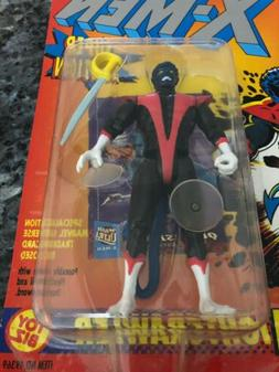 Toy Biz Marvel The Uncanny X-Men Nightcrawler with Super Suction Action Figure 4.5 Inches